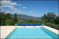 holiday villa provence - les oliviers - pool & view